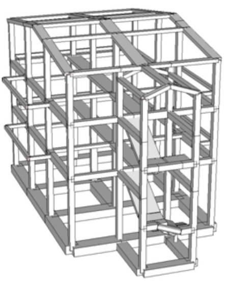 Ristrutturazione di una casa agricola for Piani di casa architettonica